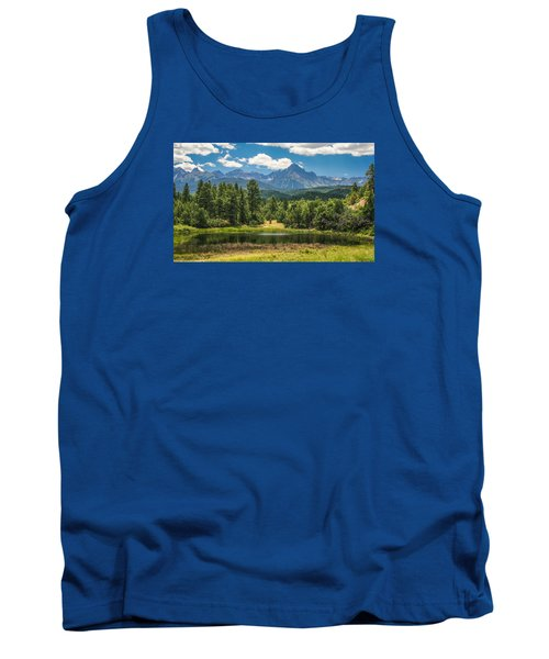 #2933 - Sneffles Range, Colorado Tank Top