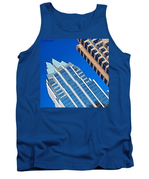 #beautiful #bluesky And The Frost Bank Tank Top