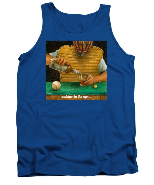 Tank Top featuring the painting Catcher In The Rye... by Will Bullas