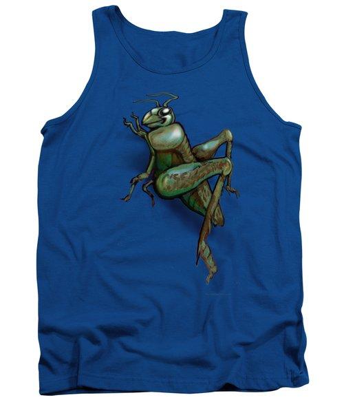 Grasshopper Tank Top by Kevin Middleton