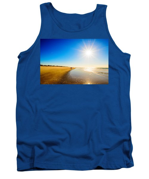 3 On The Beach  Tank Top by John Harding