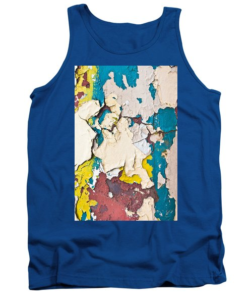 Peeling Paint Tank Top