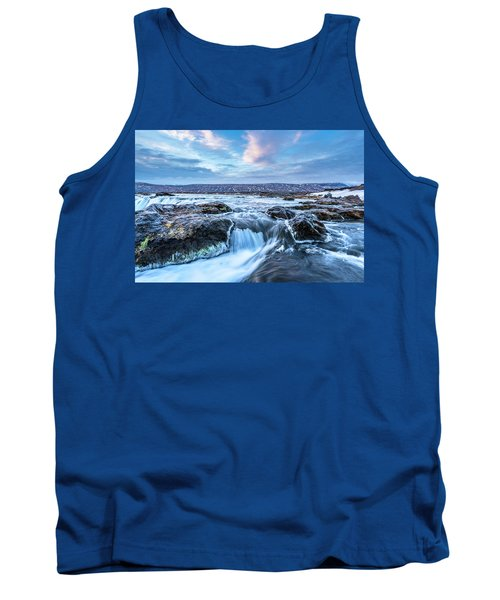Godafoss Waterfall In Iceland Tank Top by Joe Belanger