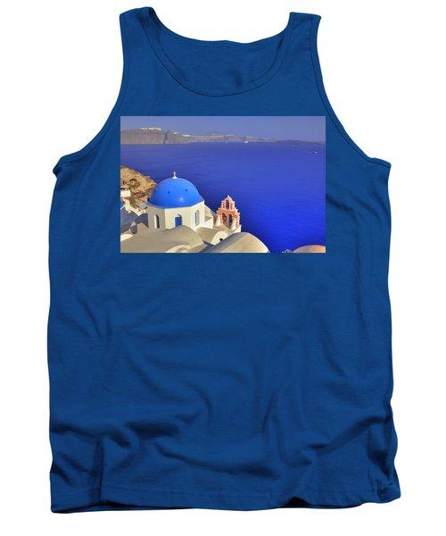 Oia - Santorini Tank Top