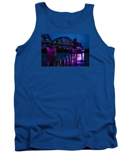 Rock Island Bridge Arkinsas Tank Top by Chris Smith