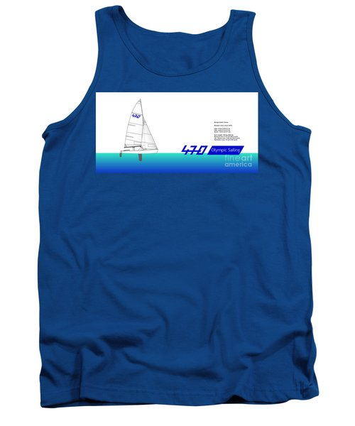 470 Olympic Sailing Tank Top