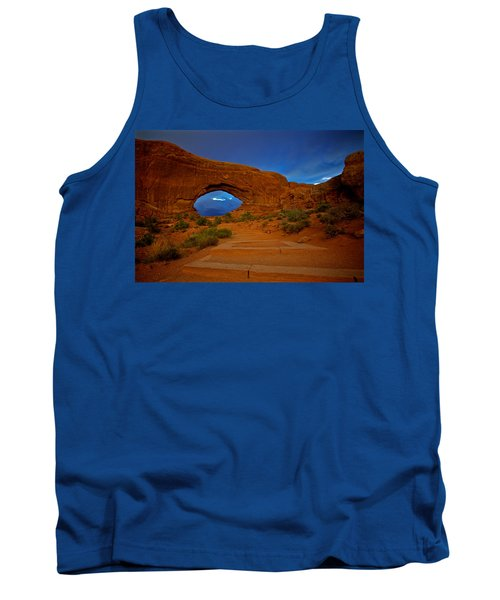 Tank Top featuring the photograph Arches by Evgeny Vasenev