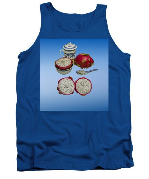 Tank Top featuring the photograph Pink Dragon Fruit  by David French