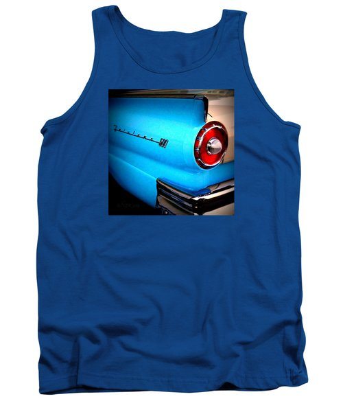 Tank Top featuring the photograph 57 Ford Fairlane  by Nick Kloepping