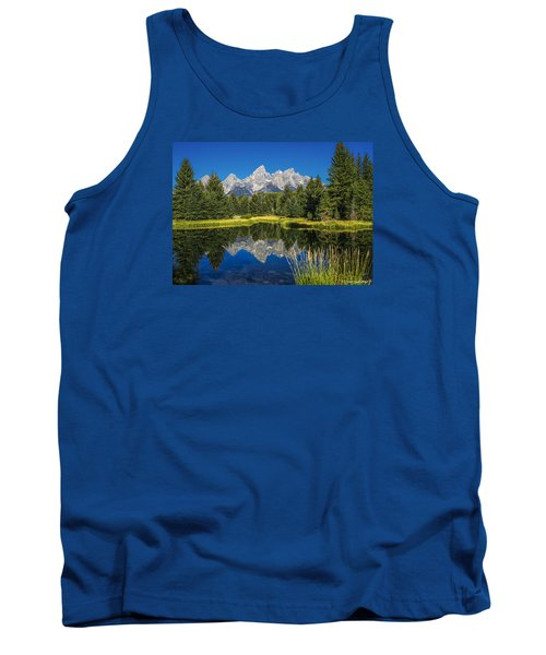 #5700 - Shwabakers Landing, Wyoming Tank Top