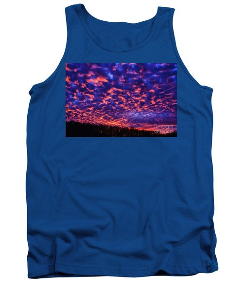 Tank Top featuring the photograph Appalachian Sunset Afterglow by Thomas R Fletcher