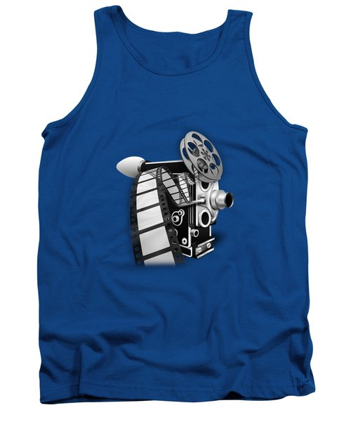 Movie Room Decor Collection Tank Top