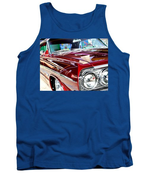 64 Chevy Impala Tank Top by Christopher Woods