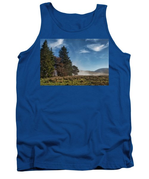 Tank Top featuring the photograph A Beautiful Scottish Morning by Jeremy Lavender Photography