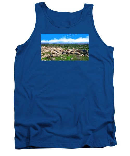 A Biblical Landscape Tank Top