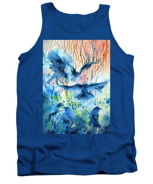 A Conspiracy Of Ravens  Tank Top by Trudi Doyle