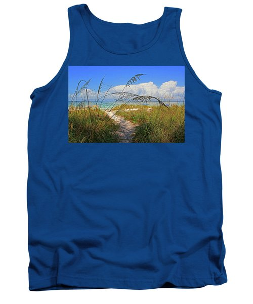 A Day At The Beach Tank Top