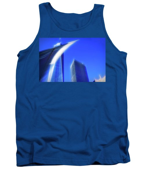 A Glimpse Of The Oculus - New York's Financial District Tank Top