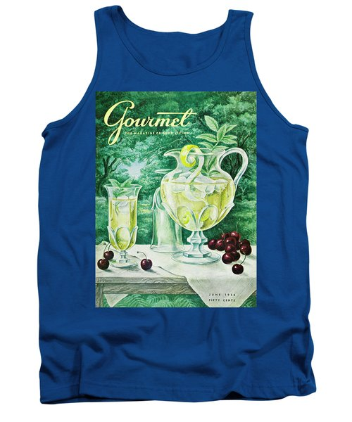 A Gourmet Cover Of Glassware Tank Top