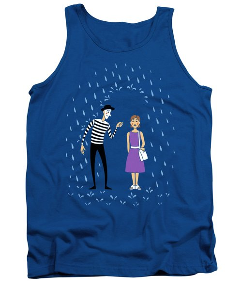 Tank Top featuring the digital art A Helping Hand by Ben Hartnett