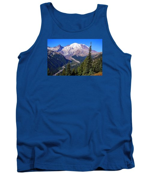 Tank Top featuring the photograph A Morning View by Lynn Hopwood