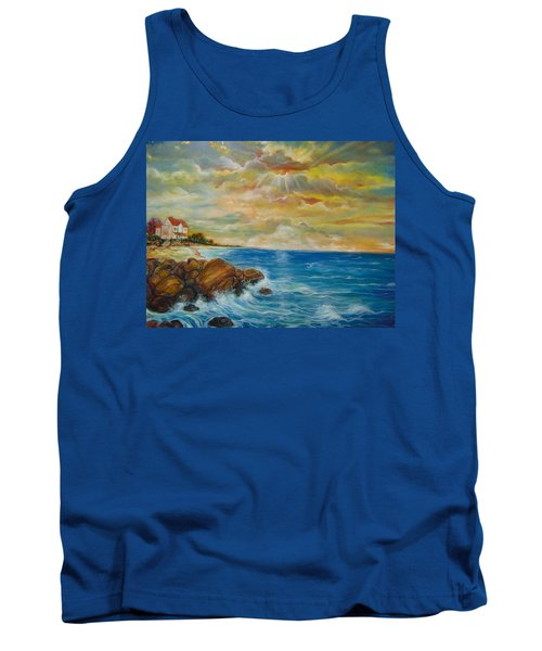 Tank Top featuring the painting A Place In My Dreams by Emery Franklin