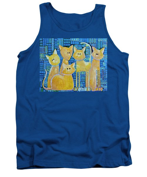 A Quorum Of Cats Tank Top