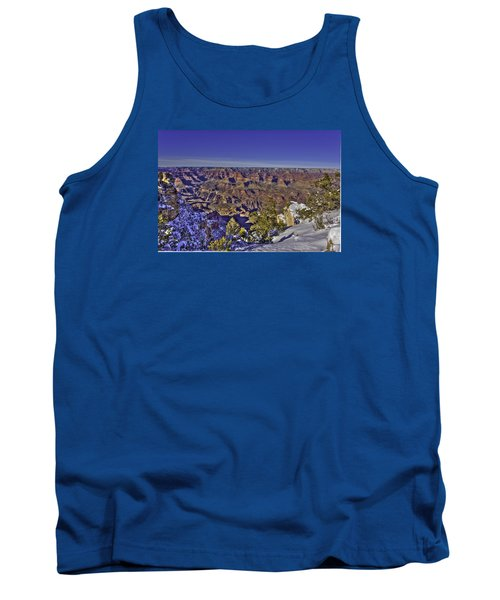 A Snowy Grand Canyon Tank Top