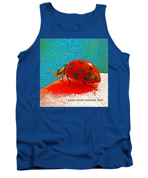 A Spring Lady Bug Tank Top