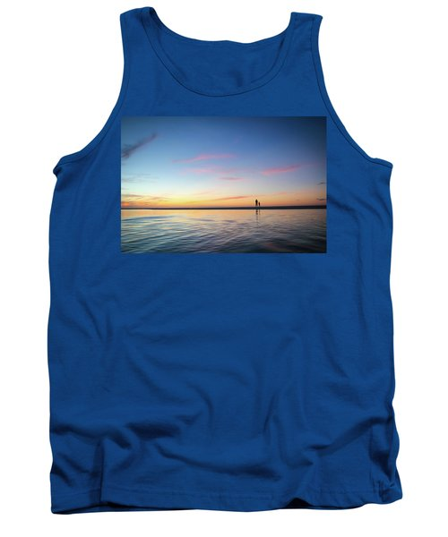 A Twilight Beach Walk Tank Top