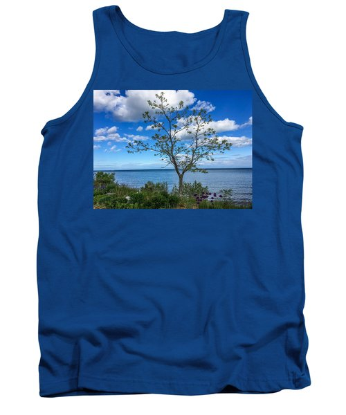 A Walk Along Lake Michigan Tank Top