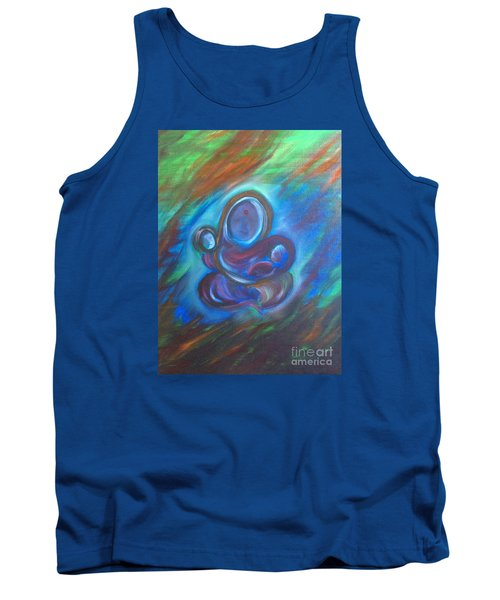 Tank Top featuring the painting Abstract Mother by Brindha Naveen