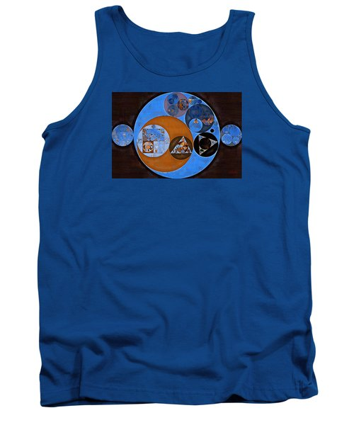 Abstract Painting - Rock Blue Tank Top