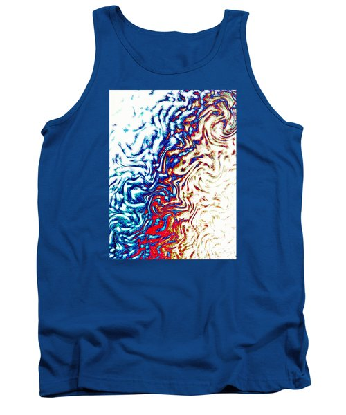 Tank Top featuring the photograph Abstract Photography 002-16 by Mimulux patricia no No