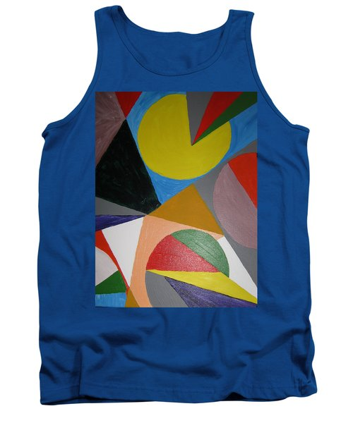 Accidental Pacman Tank Top by Barbara Yearty