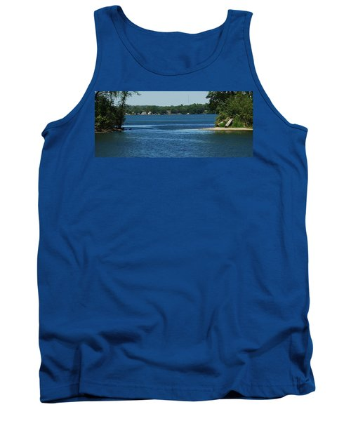 Tank Top featuring the photograph Across The Bay by Ramona Whiteaker