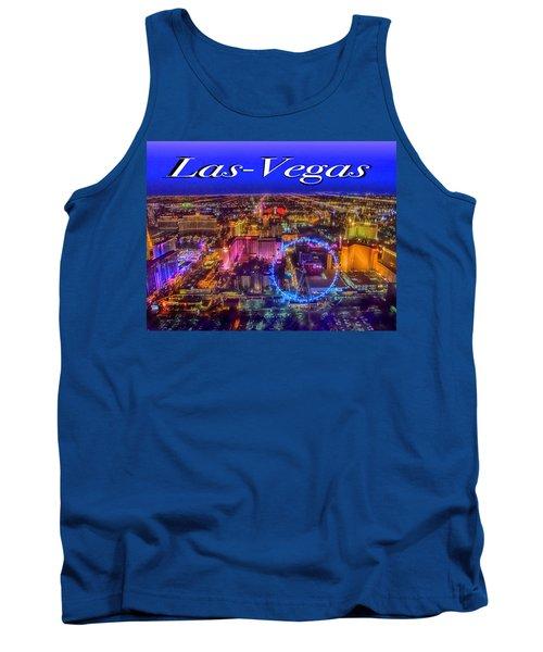 Aerial Las- Vegas Evening Tank Top