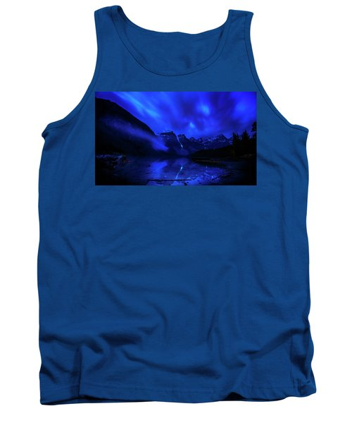 Tank Top featuring the photograph After Midnight by John Poon