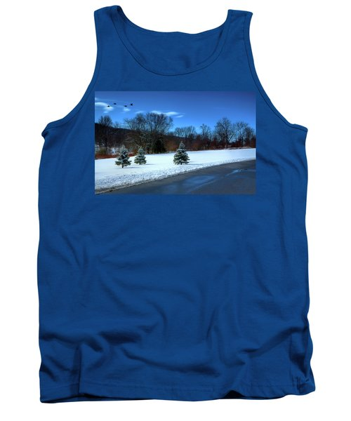 After The Snow Tank Top