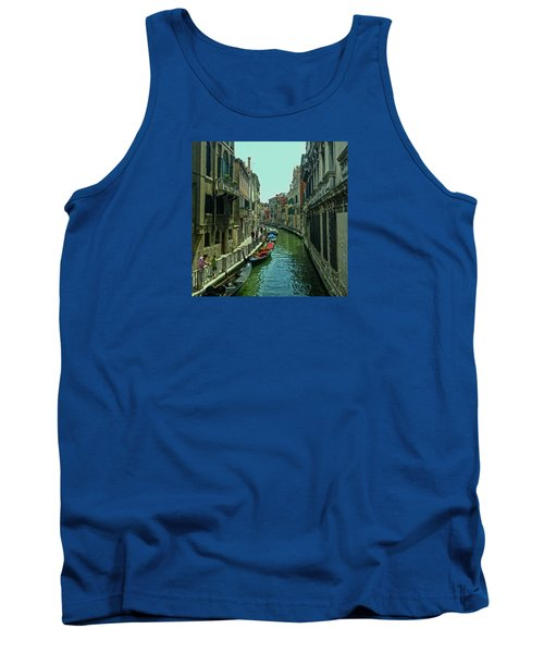 Tank Top featuring the photograph Afternoon In Venice by Anne Kotan
