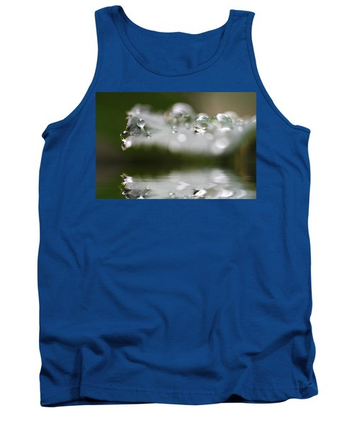 Afternoon Raindrops Tank Top by Kym Clarke
