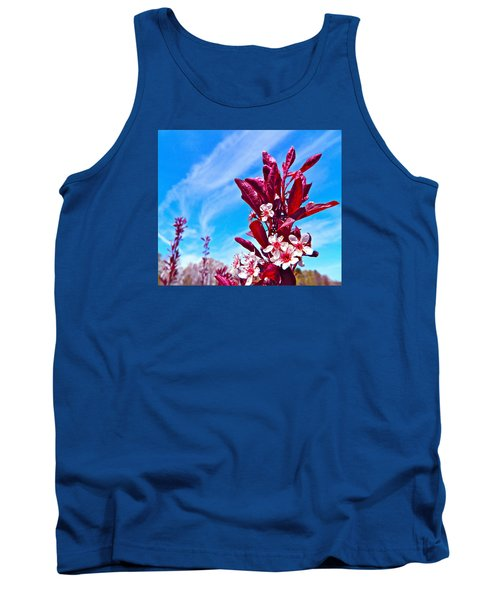 Aglow With Beauty Tank Top by Randy Rosenberger