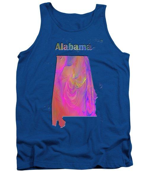 Alabama Map Tank Top