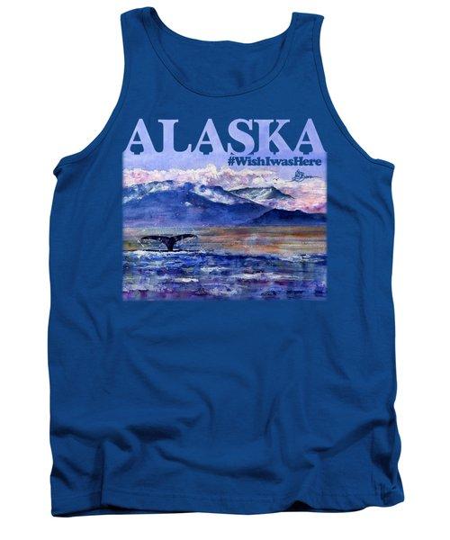 Alaskan Landscape On Water Shirt Tank Top