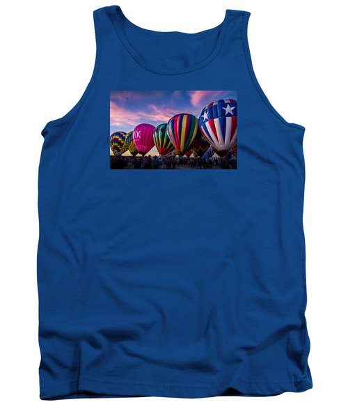 Albuquerque Hot Air Balloon Fiesta Tank Top