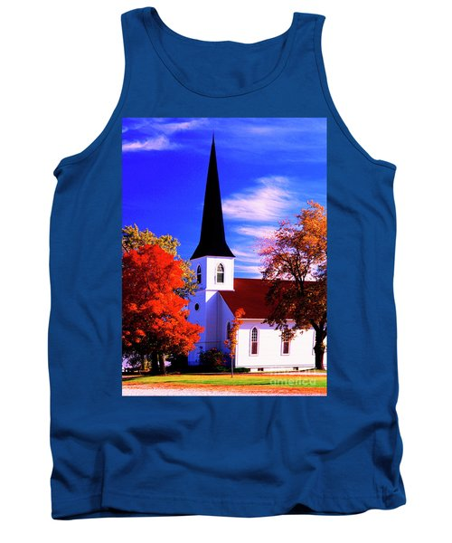 Algonquin Rd Church St Johns United  Tank Top