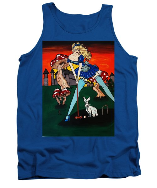Alice's  In Wonderland Tank Top
