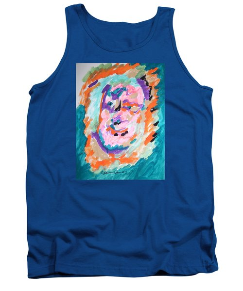 Tank Top featuring the painting Alter Ego by Esther Newman-Cohen