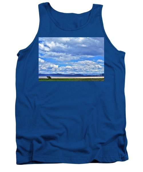 Sky Over Alvord Playa Tank Top by Michele Penner