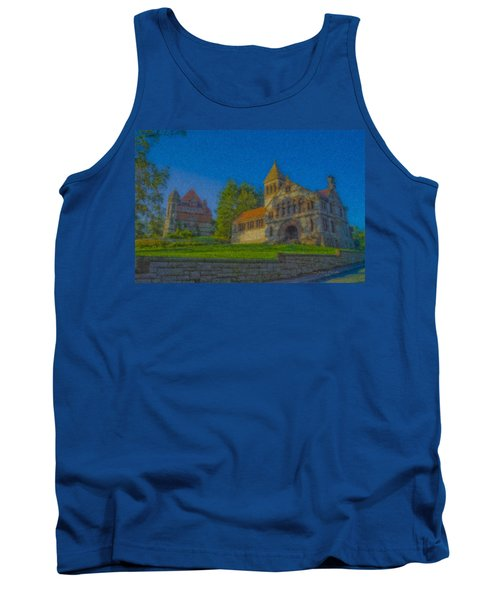 Ames Hall And Ames Free Library Tank Top